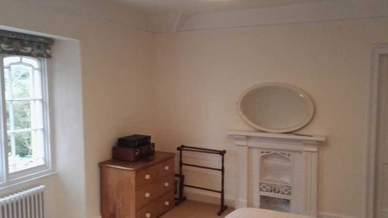 corner bedroom after