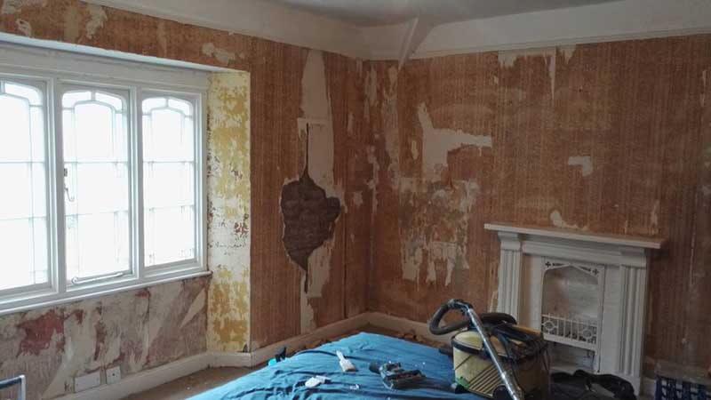 corner bedroom before