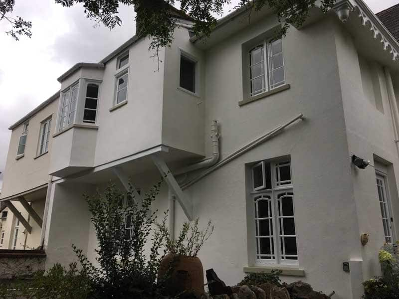 house painted white